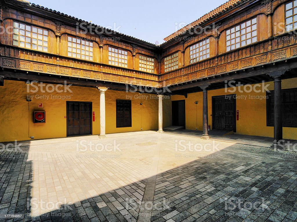 House Yard royalty-free stock photo