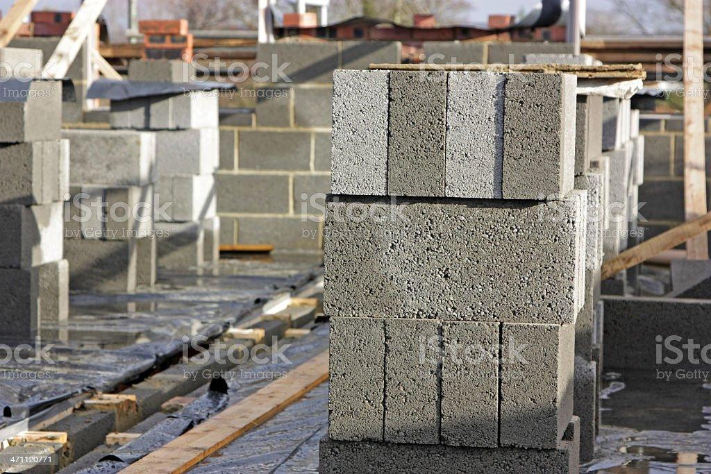 housebuilding royalty-free stock photo