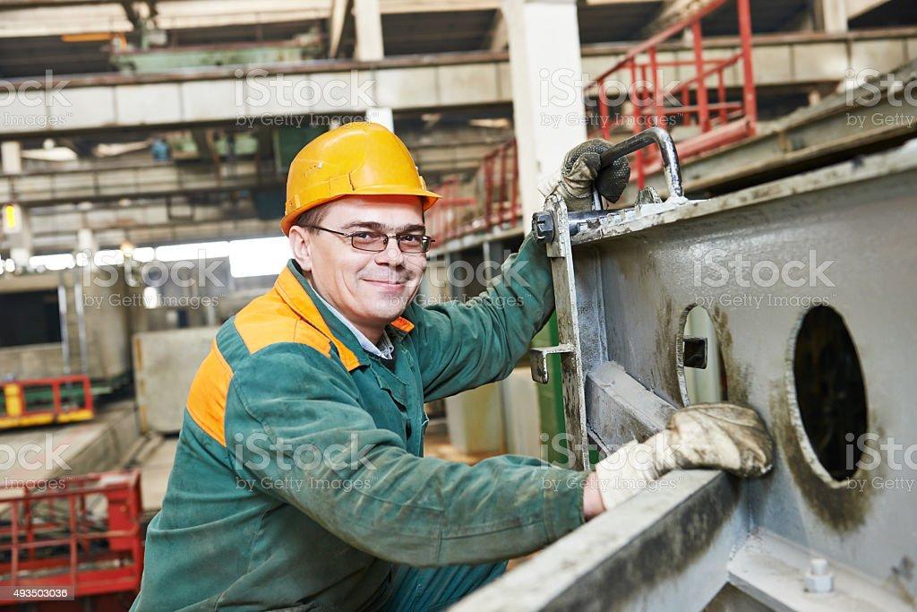 house-building plant labor stock photo