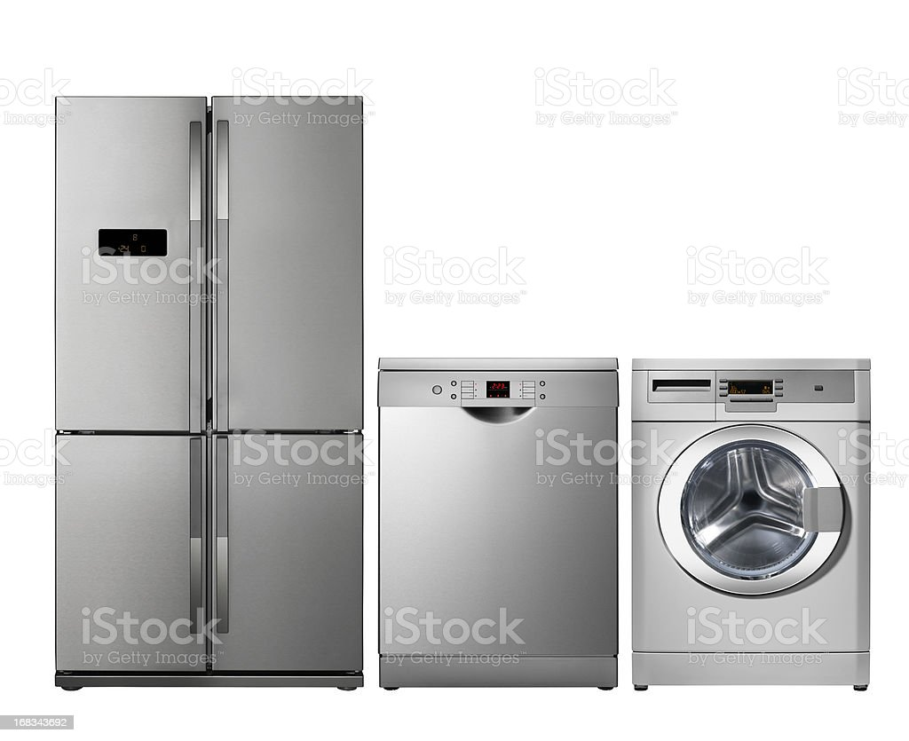 Household appliances, Kitchen stock photo