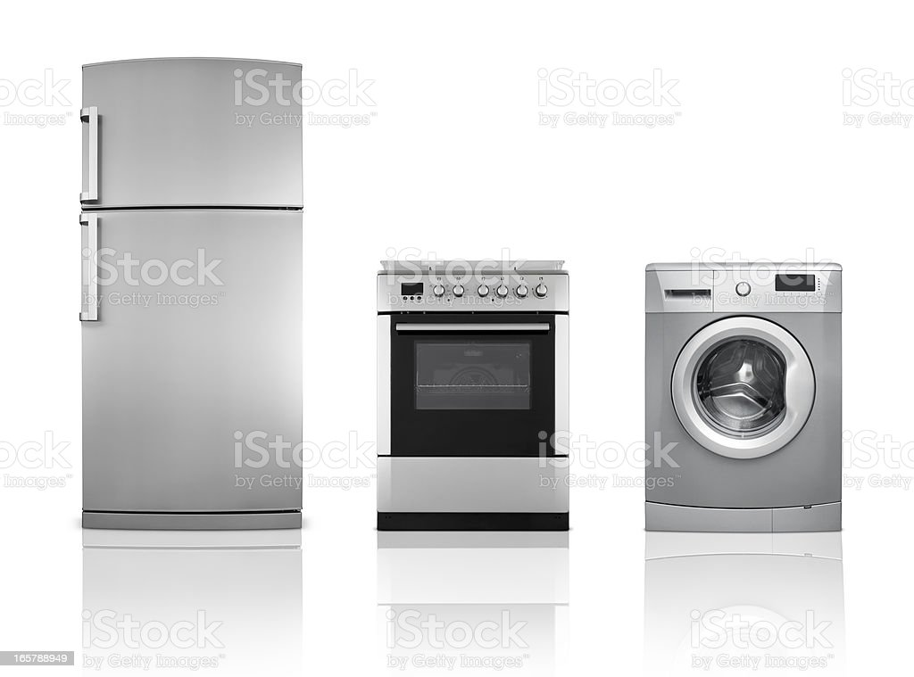 Household Appliances (Click for more) stock photo