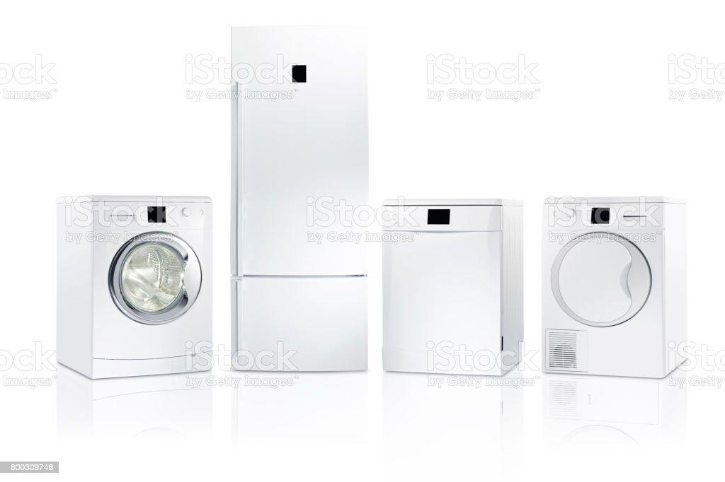 household appliances stock photo