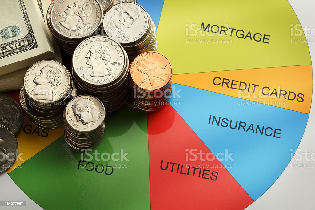 Household Budget stock photo