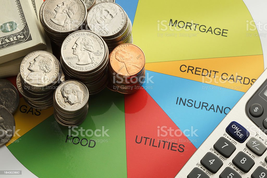 Household Budget royalty-free stock photo