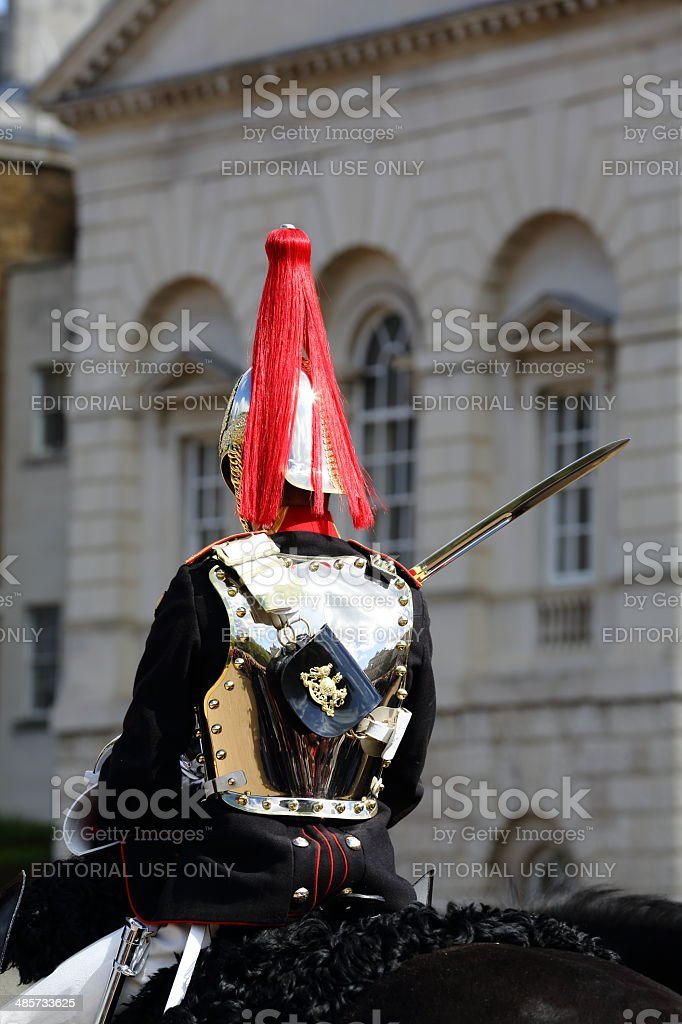 Household Cavalry - change of guards stock photo