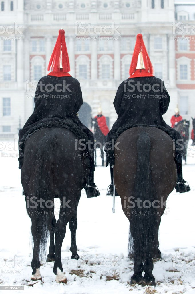 Household Cavalry Mounted Regiment stock photo
