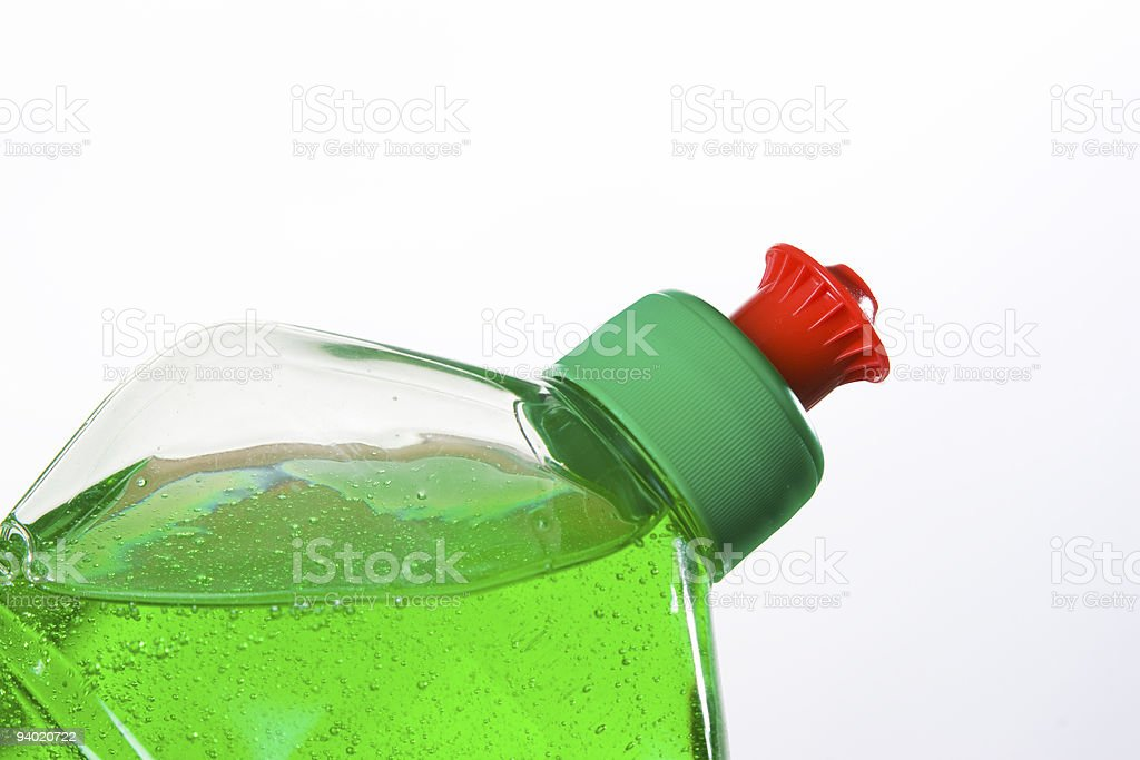 household chemical goods stock photo
