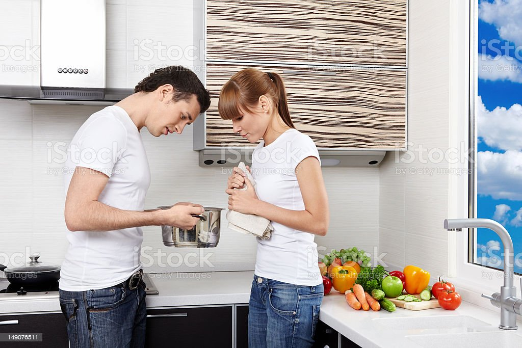 Household chores royalty-free stock photo