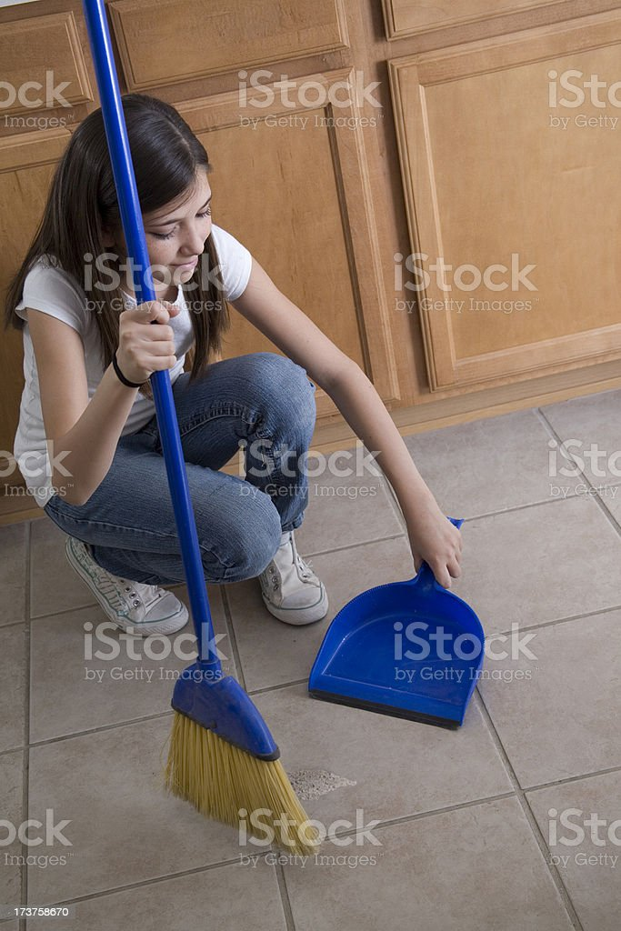 Household Chores Series royalty-free stock photo
