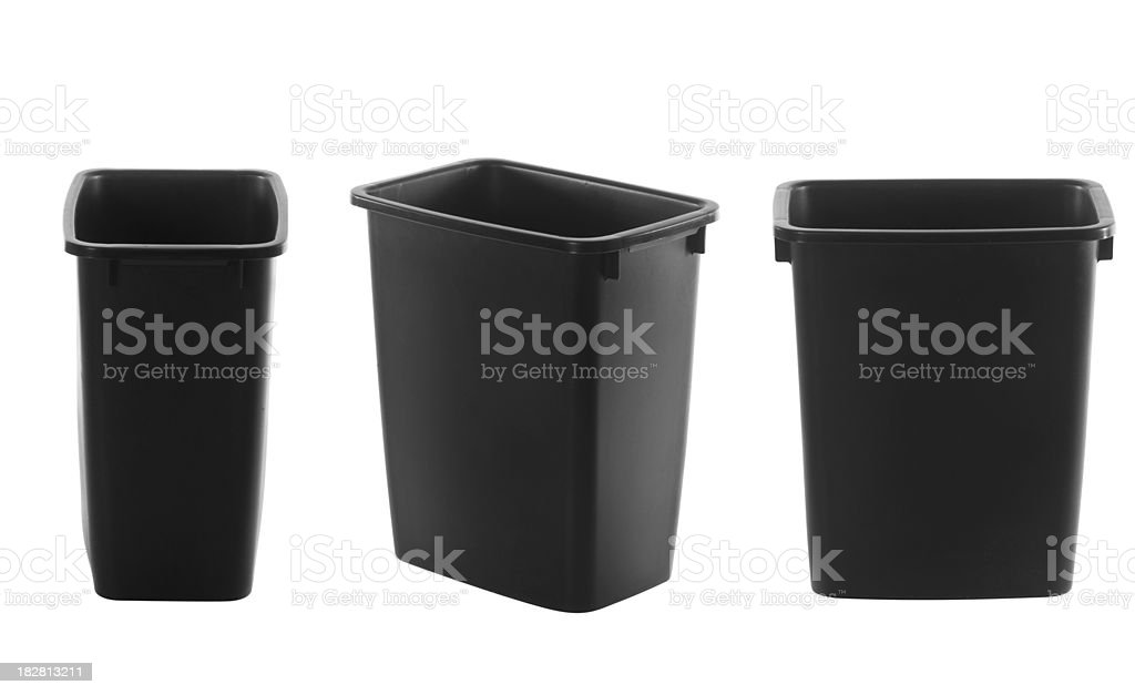Household Garbage Can royalty-free stock photo