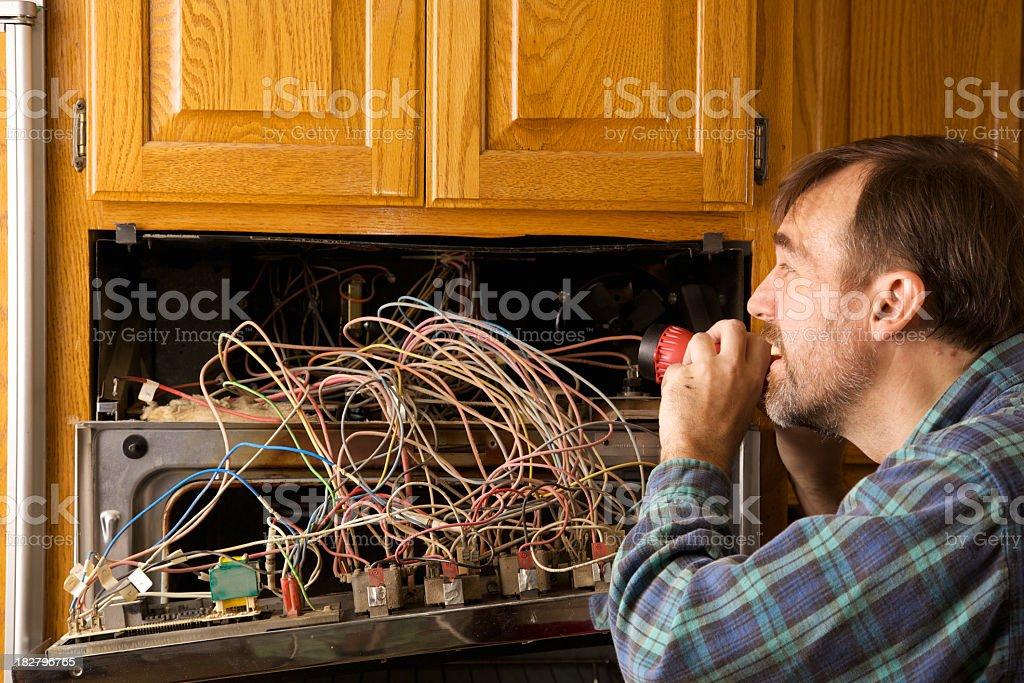 Household Repairs royalty-free stock photo