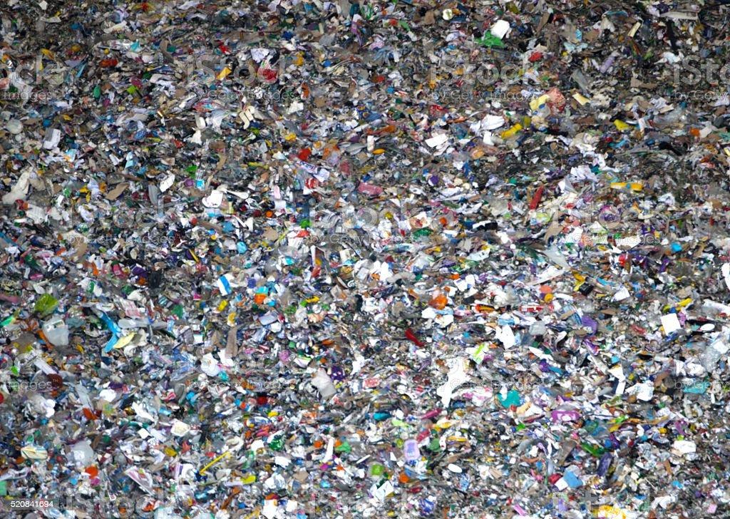 Déchets ménagers-benne à ordures photo libre de droits