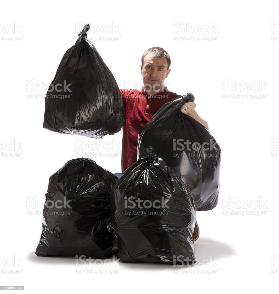 household rubbish royalty-free stock photo