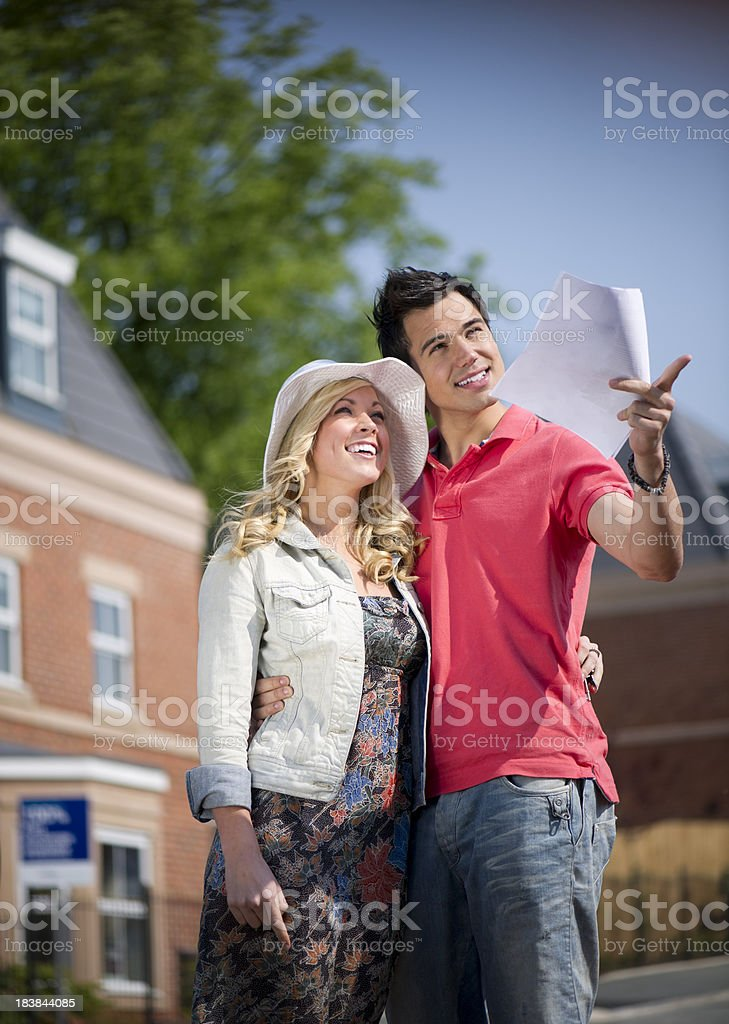 househunting royalty-free stock photo
