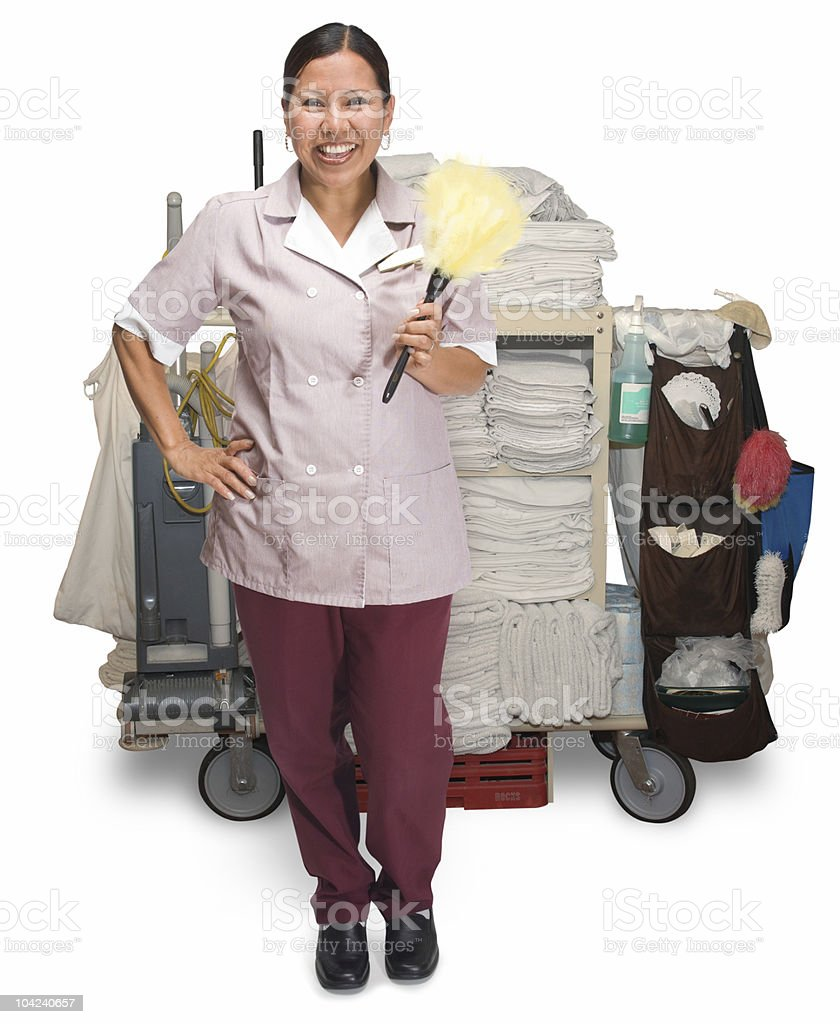 Housekeeping stock photo