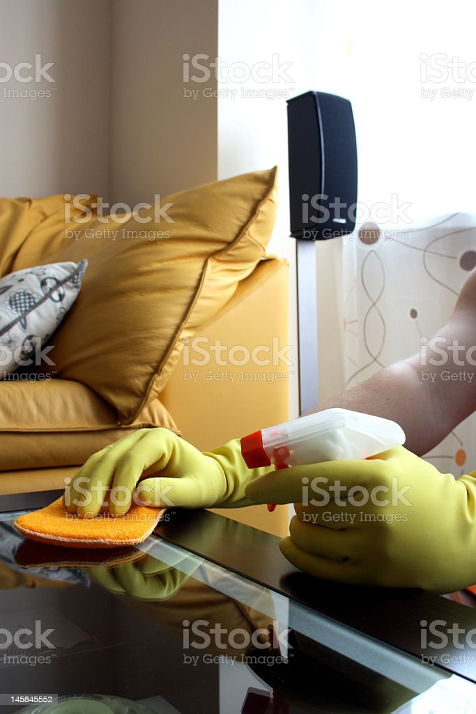 Housekeeping royalty-free stock photo