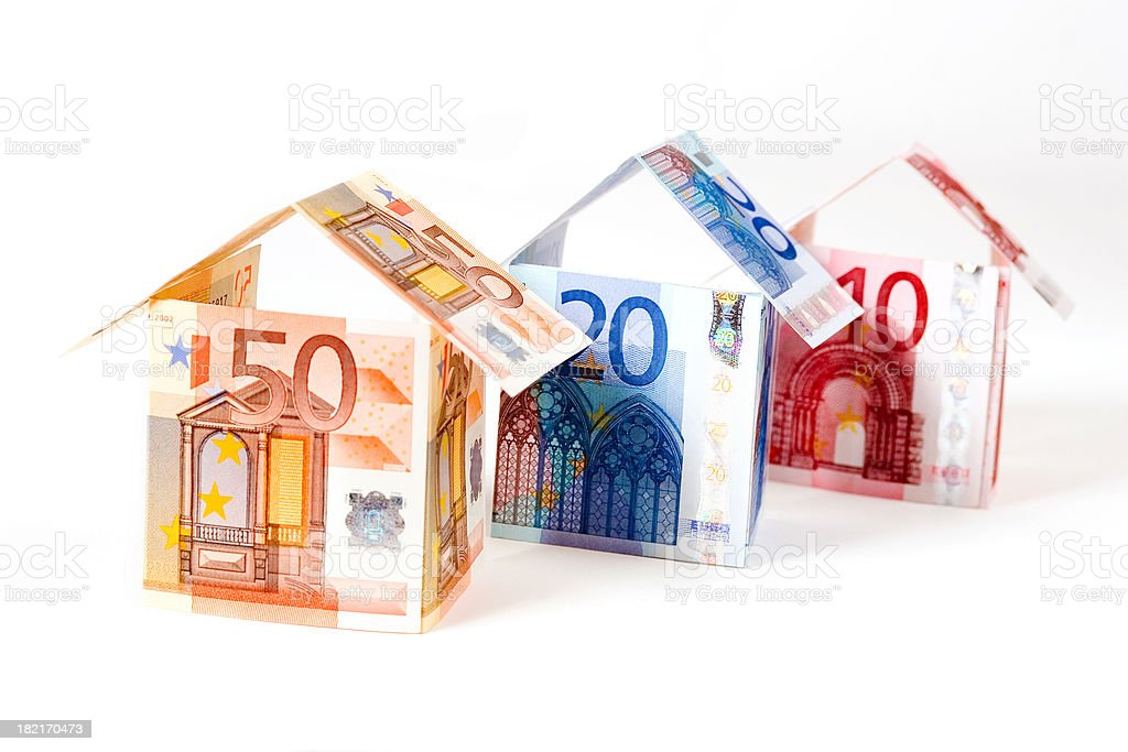 Houses for everybody royalty-free stock photo