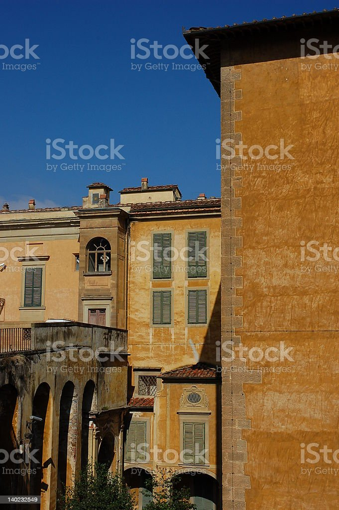 Houses in Florence royalty-free stock photo