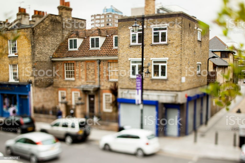 Houses in London royalty-free stock photo