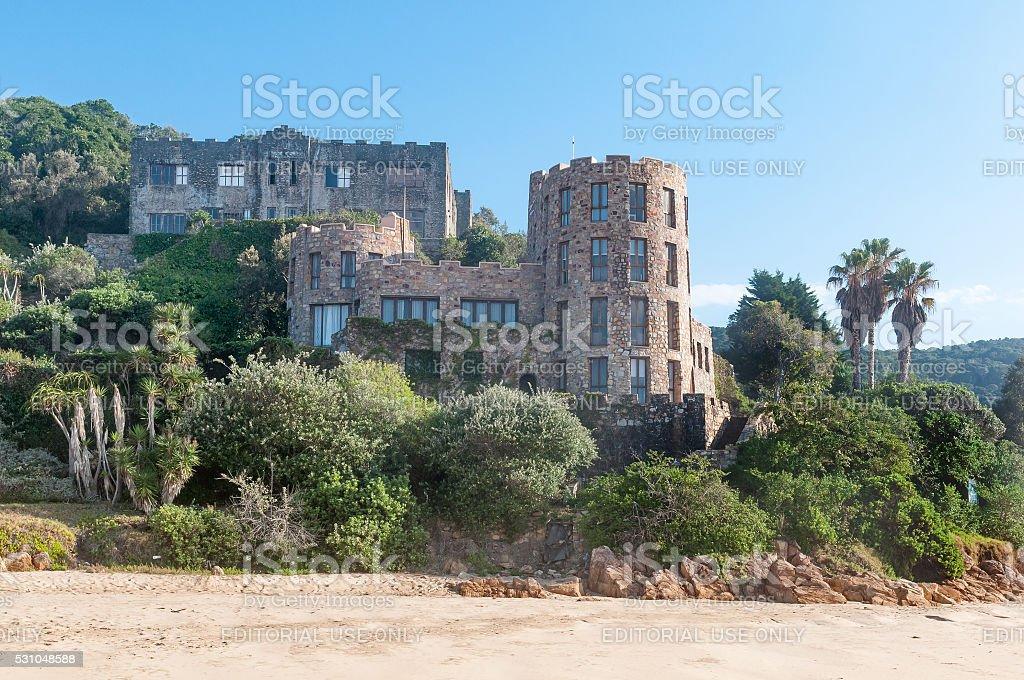 Houses in Noetsie stock photo