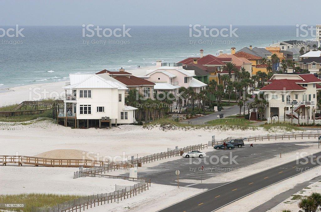 Houses in Pensacola stock photo