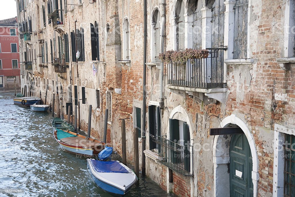 Houses in Venice royalty-free stock photo