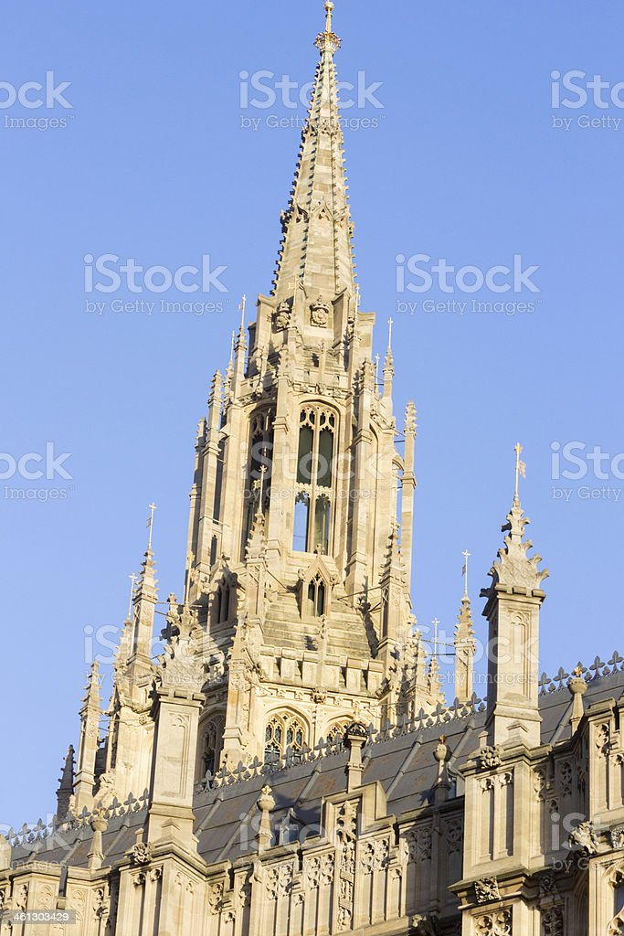 Houses of Parliamenmt in London, England royalty-free stock photo