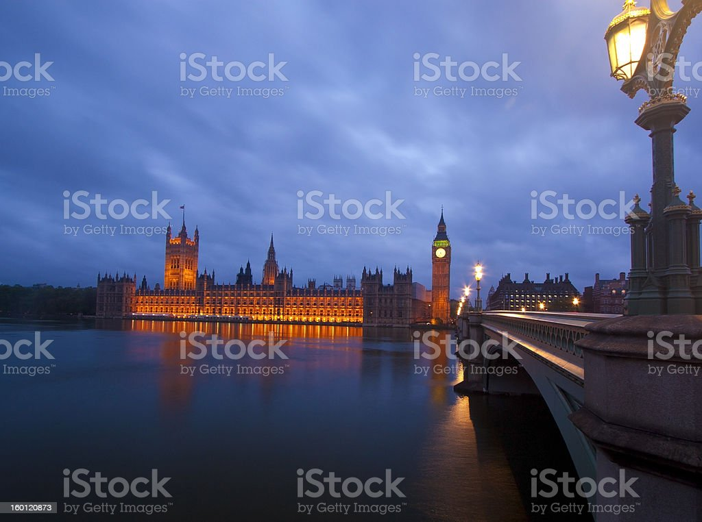 Houses of Parliament 2 royalty-free stock photo