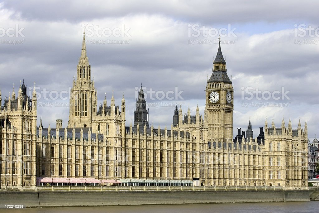 Houses of Parliament 2 stock photo