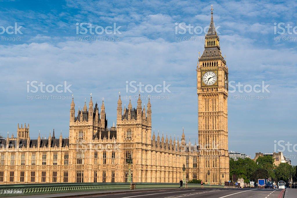 Houses of Parliament, London, England, UK stock photo
