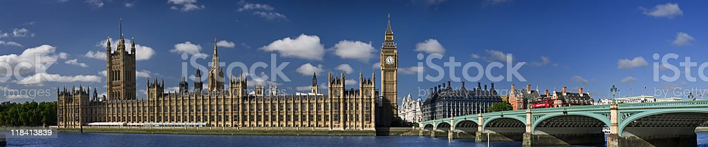 XXXL - Houses of Parliament, London. royalty-free stock photo