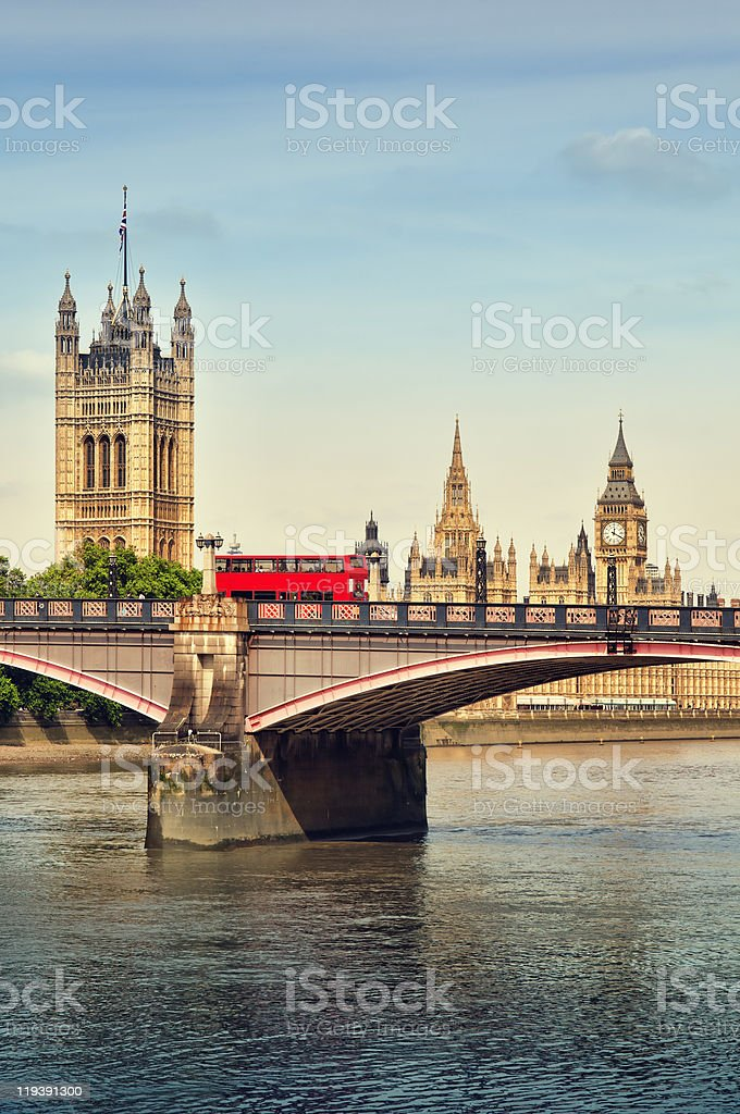Houses of Parliament, London. royalty-free stock photo