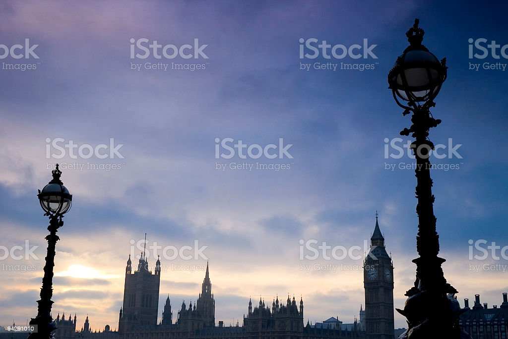 Houses of Parliament, London stock photo