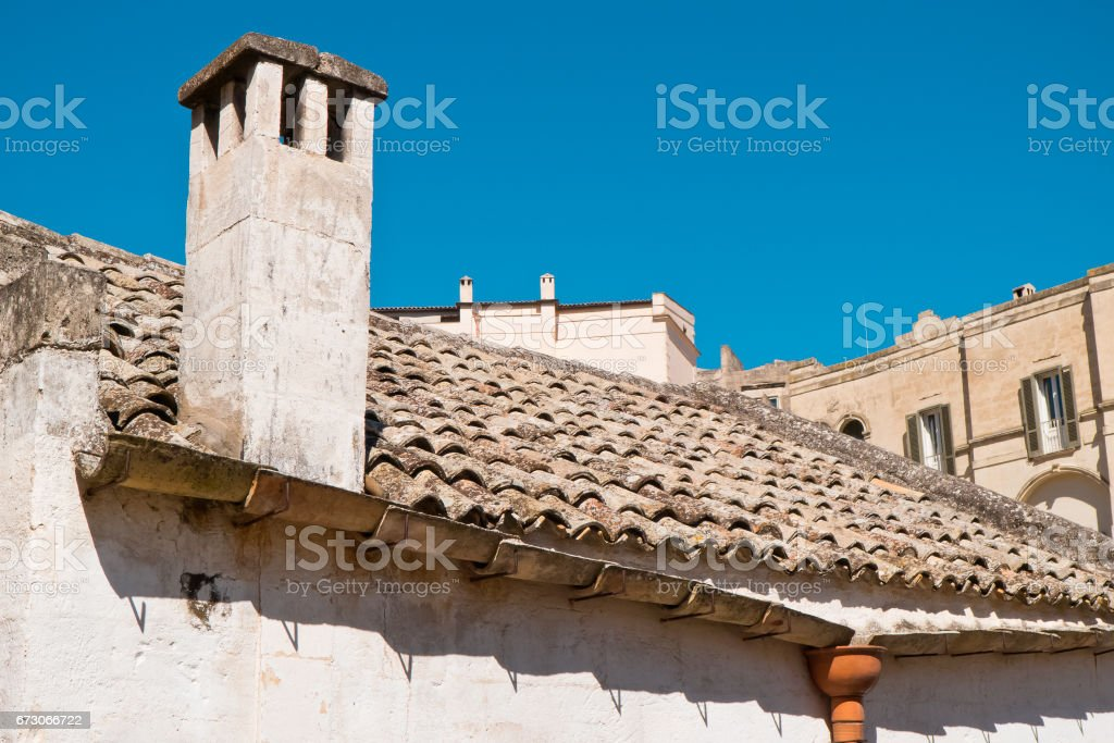 Houses of southern Italy. stock photo