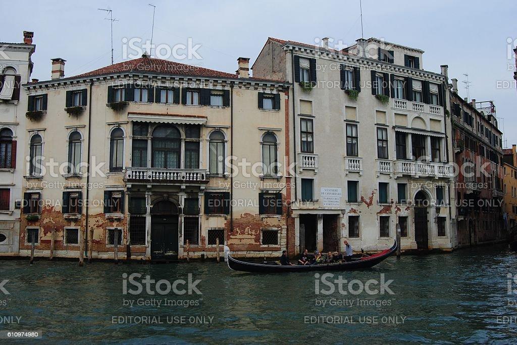Houses of Venice. stock photo