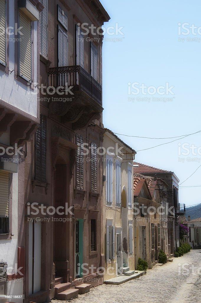 Houses stock photo