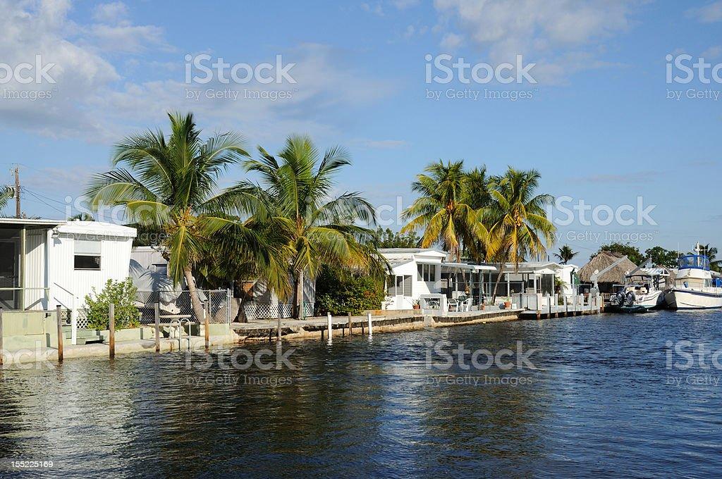 Houses Waterside, Florida stock photo