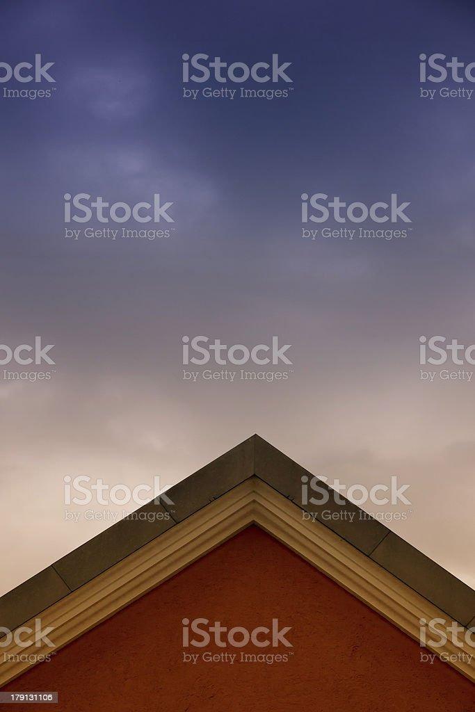 housetop royalty-free stock photo
