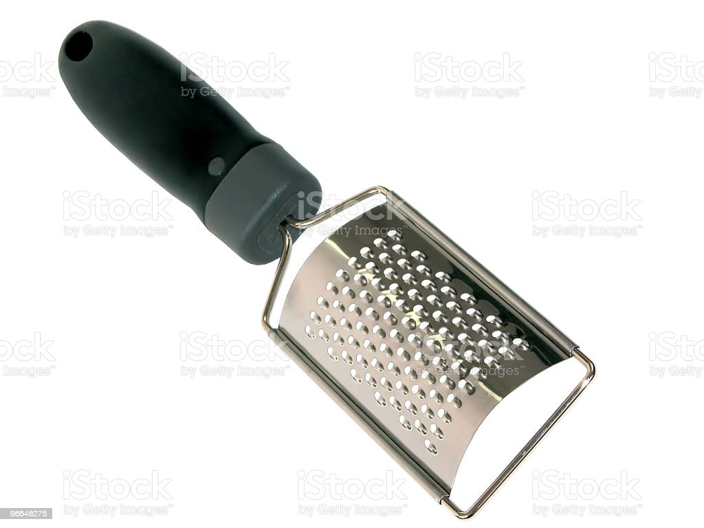 Housewares: Cheese Grater royalty-free stock photo