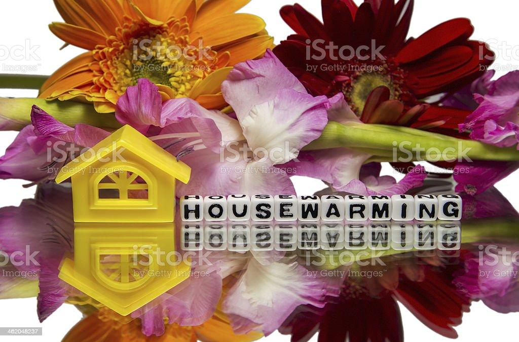 Housewarming stock photo