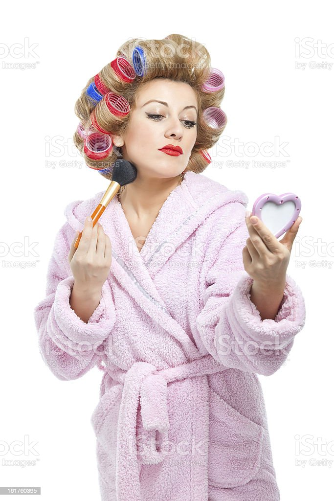Housewife royalty-free stock photo