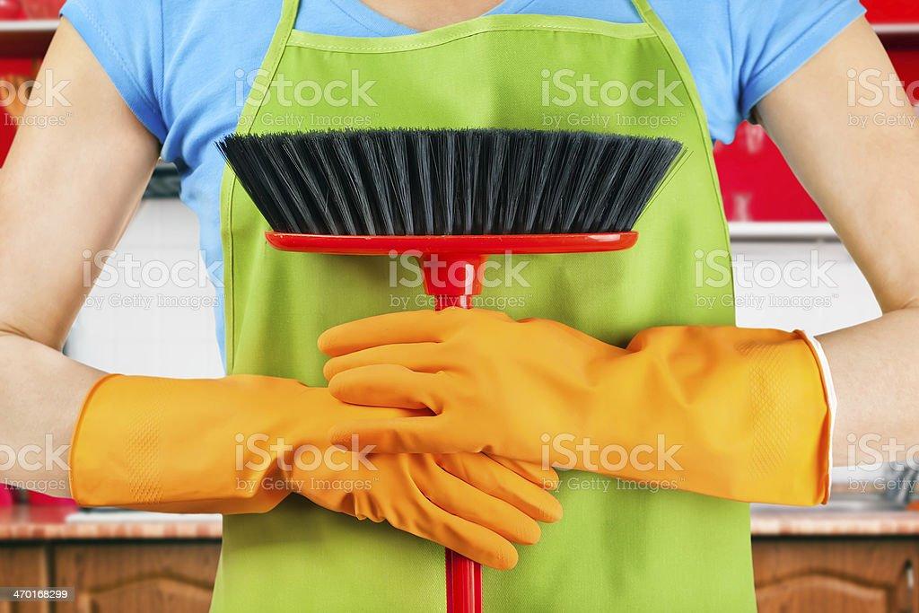 housework stock photo