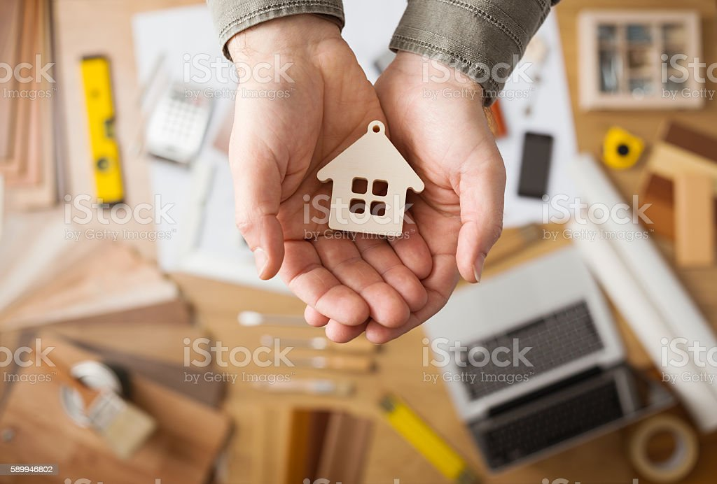 Housing concept stock photo