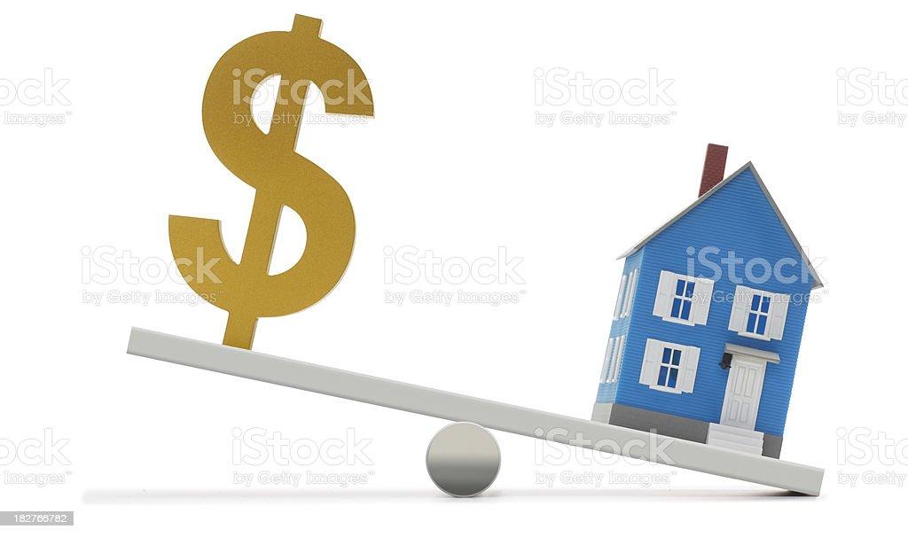 Housing Costs stock photo