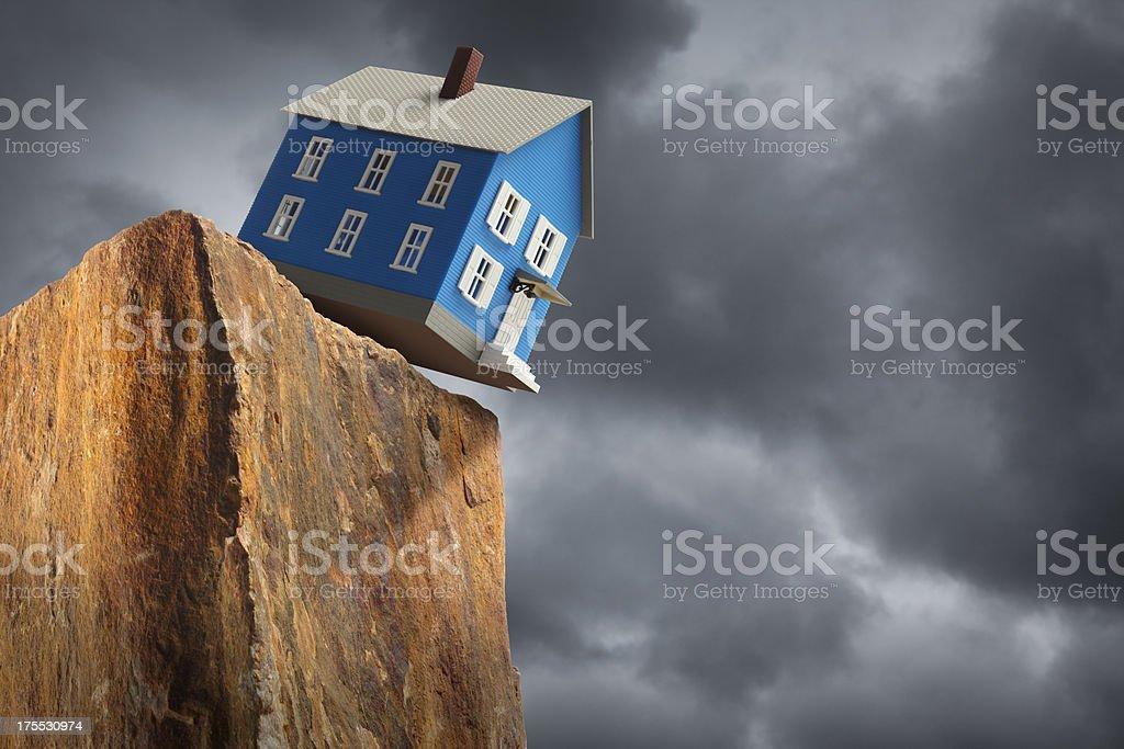 Housing Crisis royalty-free stock photo