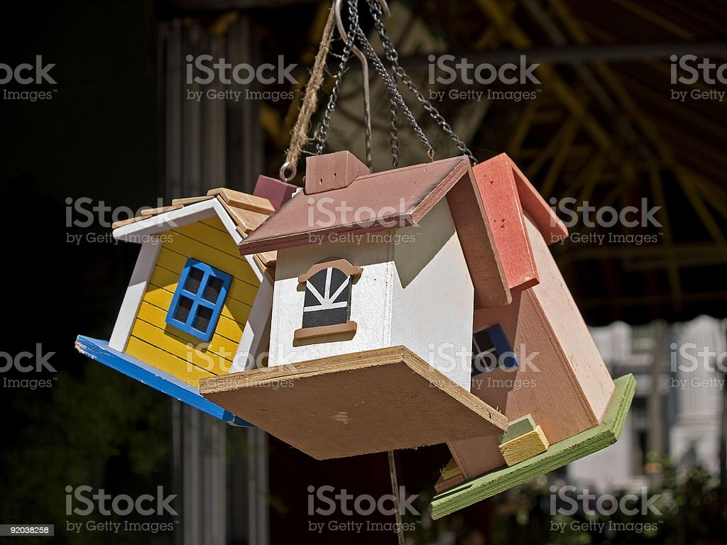 Housing Crunch royalty-free stock photo