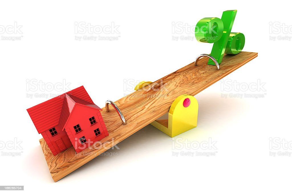 Housing Debt royalty-free stock photo