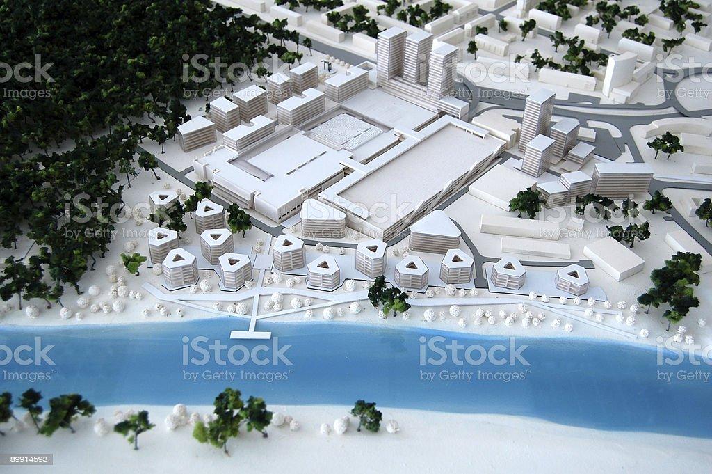 housing development model stock photo