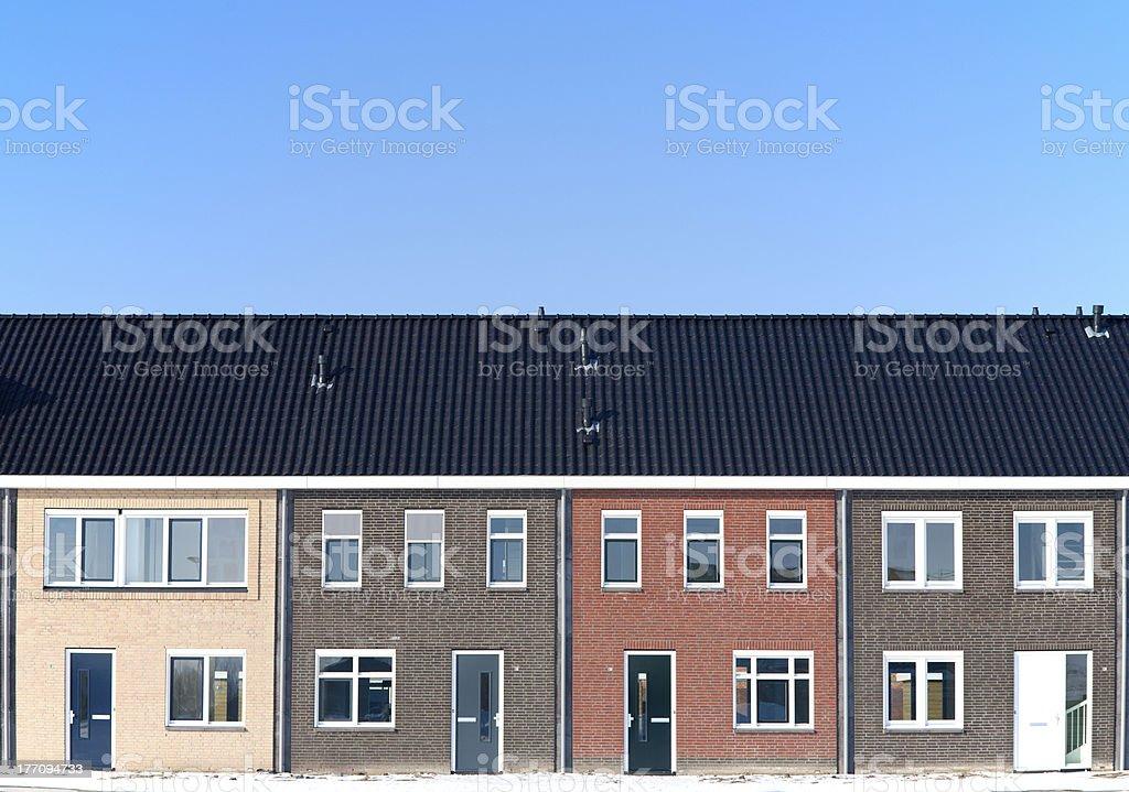 Housing development royalty-free stock photo
