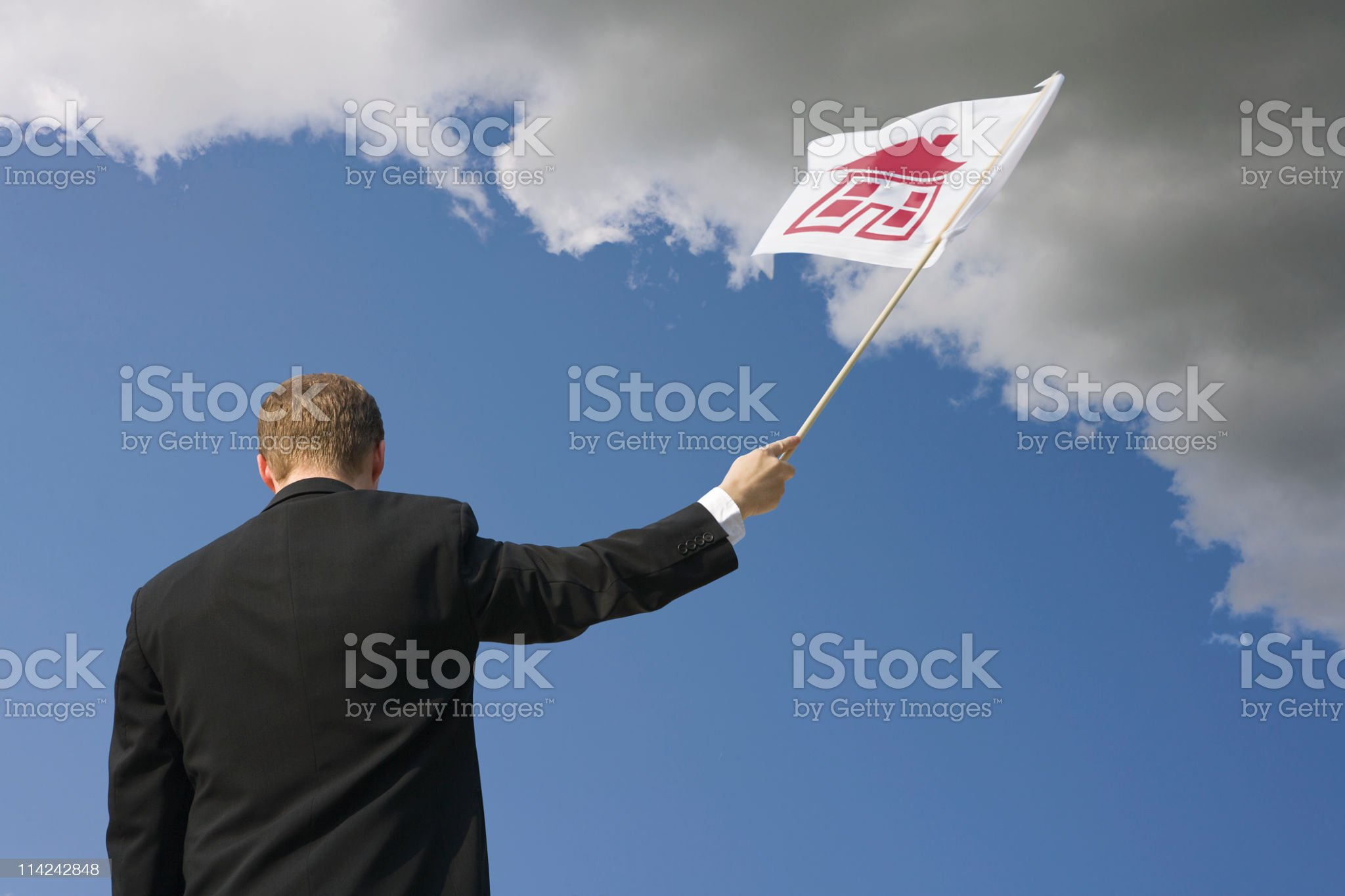 Housing difficulties royalty-free stock photo